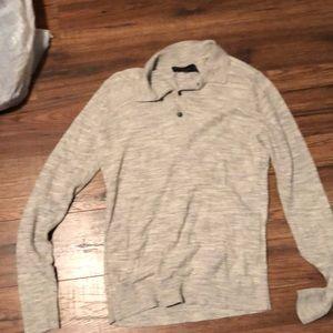 AbercrombieMen's  long sleeve sweater polo